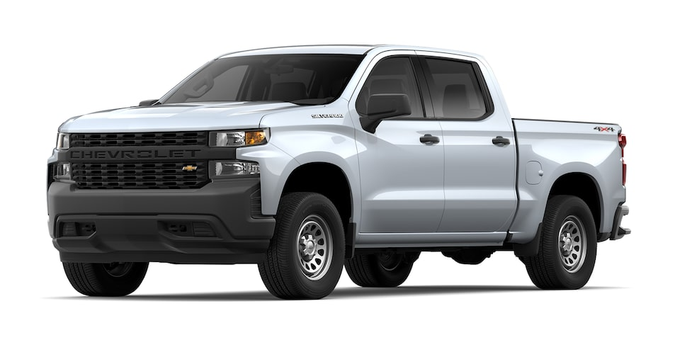 Chevrolet Silverado 2021 color plata brillante